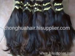 virgin indian hair bulk