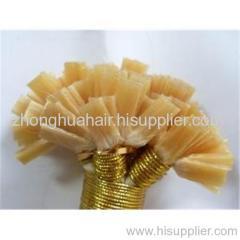 keratin prebonded hair remy human hair extension