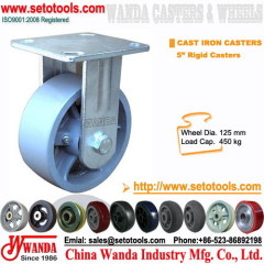 gray iron casters wheels