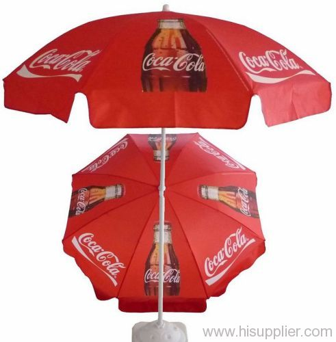 Coca Cola Promotional Golf Umbrella From China