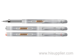Financial gel ink pen