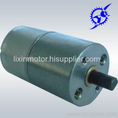 25mm diameter dc gear motor
