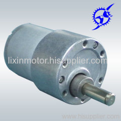 gear motor with 37mm diameter