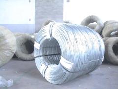 El alambre galvanizado