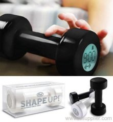 Shape Up Alarm Clock Dumbbell