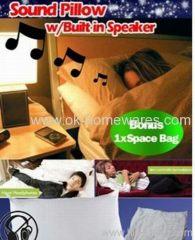 sound asleep music pillow