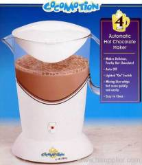 automatic hot chocolate maker