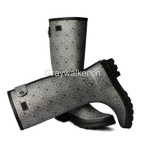 Hunter Style Rubber Boots