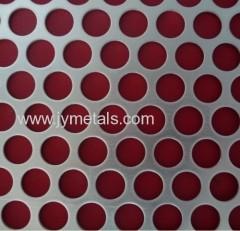 Round Hole aluminum Perforated Sheet