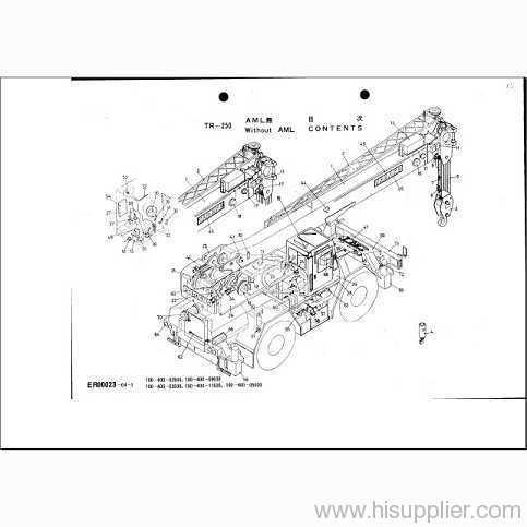 tadano cranes parts catalog 2009 manufacturer from china uat auto rh uautoest en hisupplier com Tadano Cranes Japan Tadano America Taps