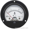 Round Panel 65 Moving Iron Instruments AC Ammeter
