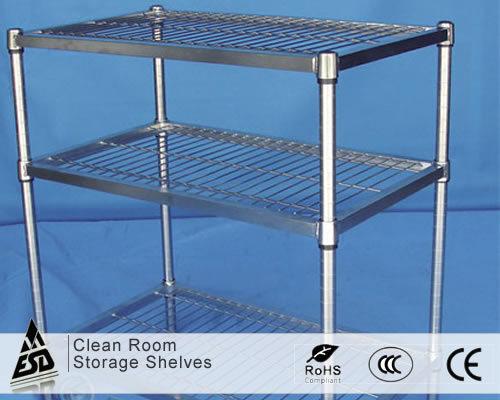 Clean Room Storage Shelves