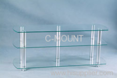 Clear Tempered Glass Stand
