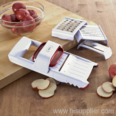 4 in 1 slicer and grater