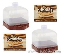 TWO Camping microwave micro smores treats