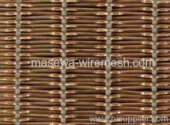 coil wire fabric metal drapery