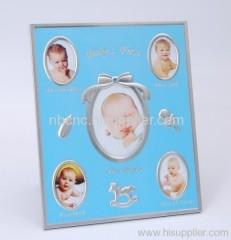 baby metal photo frame