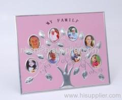family member's photo frame
