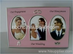 metal photo frame for marry