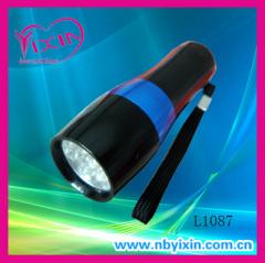 9 LED aluminum pocket flashlights
