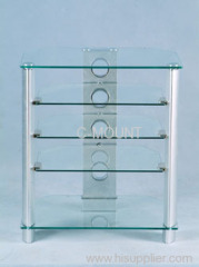 Tempered Glass AV Stand