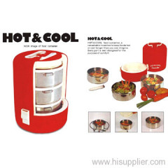 Hot Cool Food Container