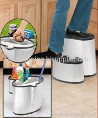 step stool bucket
