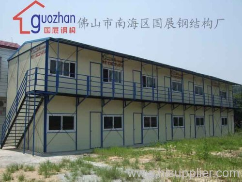 Slope roof prefabricated house