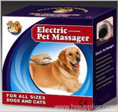electric pet massager