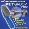 Electronic pet groom pro IONIC cleaning brush