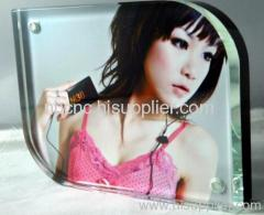 glass photo frame with insert paper