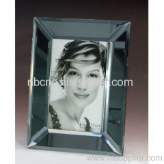 curved glass photo frames