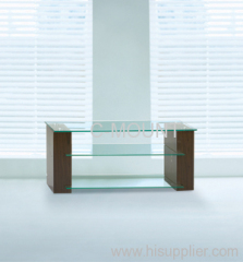 MDF and Glass TV Stand