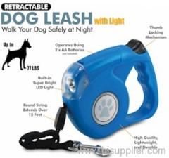dog leash light