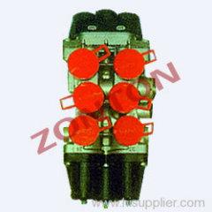 6 circuit protection valve