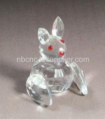 lovely crystal rabbit