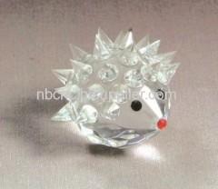 lovely crystal hedgehog