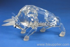 crystal cow
