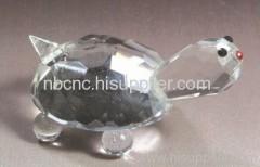 beautiful crystal turtle