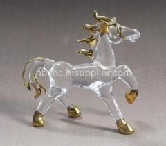 lovely crystal horse