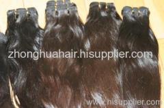 virgin human hair weft raw indian hair