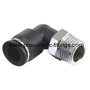 Male Elbow push in fitting pneumatic fitting manufacturer in china