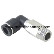 Extended Male Elbow pneumatic tubing fittings