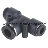 Different Diam Union Tee Pneumatic fitting supplier in china