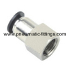 Female Straight push in fittings Bell prestolock fitting pneumatic fitting supplier from china
