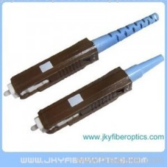 MU/PC SM Fiber Optical Simplex Connector