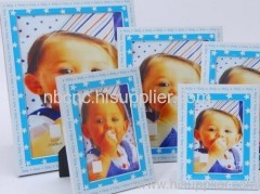 colorfull baby picture frame