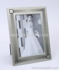 family's aluminum photo frame