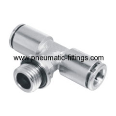 brass push in fitting manufacturer in china metal pneumatic fitting supplier in china