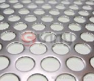 perforated round metal
